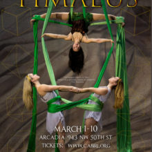 Plato's Timaeus March 1-10 at Arcadia